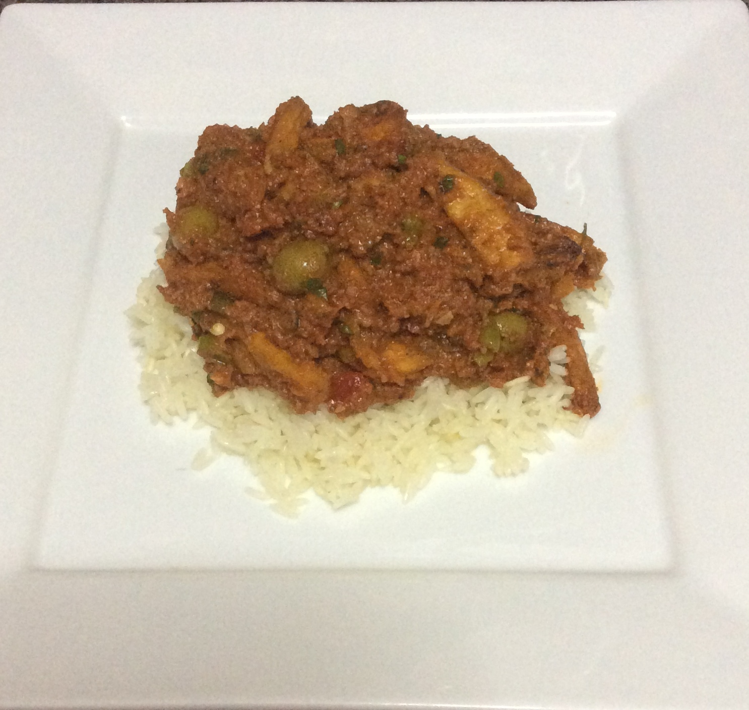 Corned Beef And White Rice