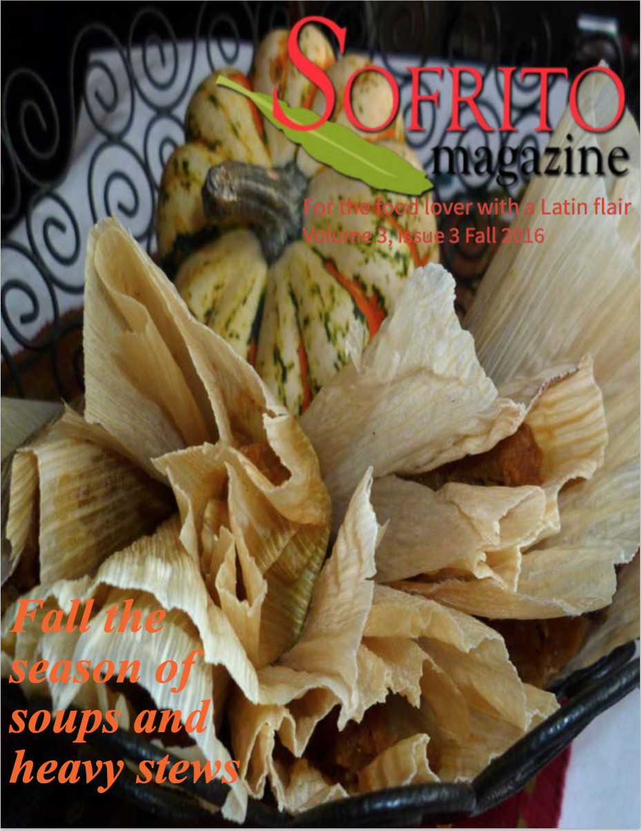 Available Now On Sale Fall Issue Sofrito Magazine